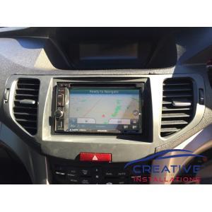 Accord Euro GPS Navigation System