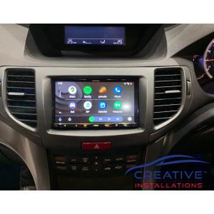 Accord Euro Car Stereo Upgrade
