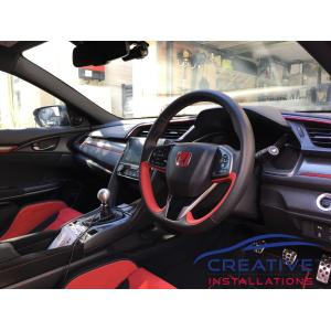 Civic Type R BlackVue DR750S-2CH Dash Cameras