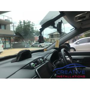 CR-V 2018 Transcend DrivePro 200 Dash Camera