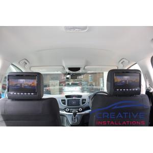 CRV Headrest DVD Players