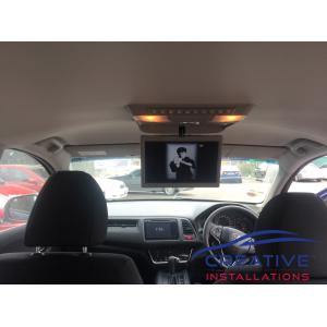 HR-V Roof DVD player