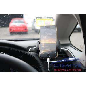 Jazz car phone holder