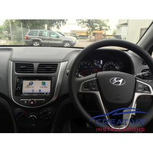 Accent GPS Navigation System