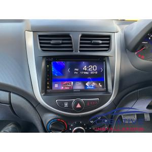 Accent GPS Navigation System Kenwood DNX5180S