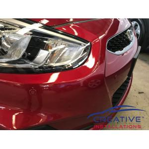 Accent Sedan Front Parking Sensors