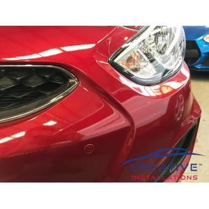 Accent Front Parking Sensors