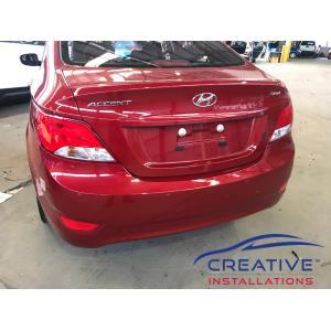 Accent Sedan Reverse Parking Sensors
