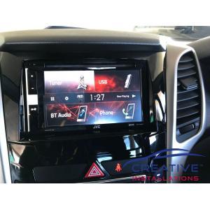 i30 JVC Car Stereo