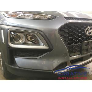 Kona Front Parking Sensors