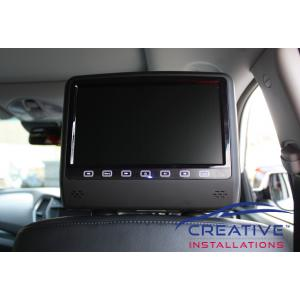 Santa Fe Headrest DVD players