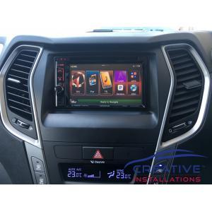 Santa Fe GPS Navigation System