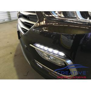 Santa Fe Front Parking Sensors