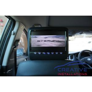 Tucson Headrest DVD players