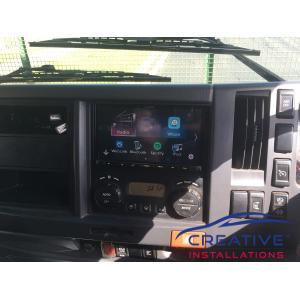 FRR 600 Kenwood DMX8018S Infotainment System
