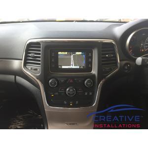 Grand Cherokee GPS Navigation System