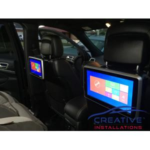 Grand Cherokee Headrest DVD Players