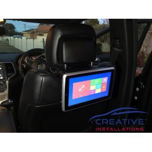 Grand Cherokee Car DVD Players