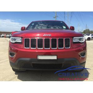 Grand Cherokee Front Parking Sensors