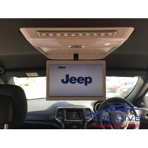Grand Cherokee Roof DVD player