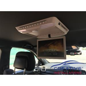Grand Cherokee Roof DVD player