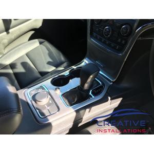 Grand Cherokee REDARC brake controller