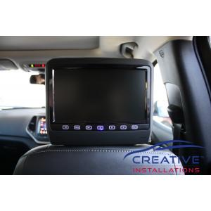 Grand Cherokee Headrest DVD Players