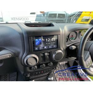 Wrangler Kenwood DMX5020S Head Unit