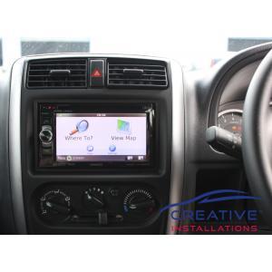 Jimny Sierra GPS Navigation System