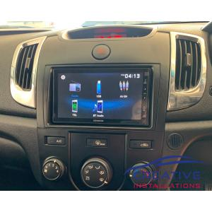 Cerato Kenwood Car Stereo Upgrade