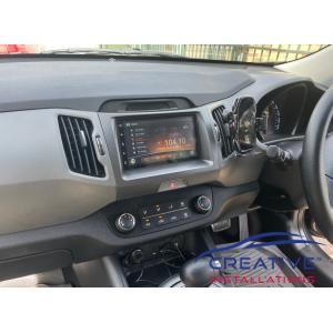 Sportage Car Stereo System