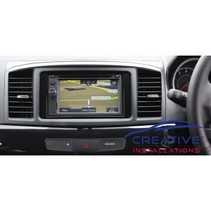 Lancer Hatch GPS Navigation System