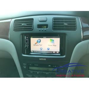 ES300 GPS Navigation System