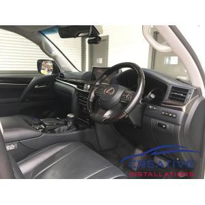 Lexus LX570 BlackVue Dash Camera