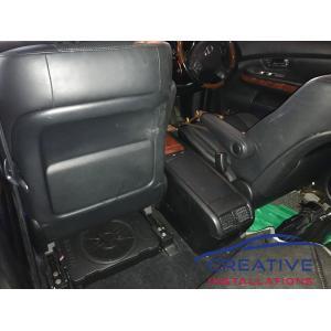 Lexus KICKER Underseat Subwoofer
