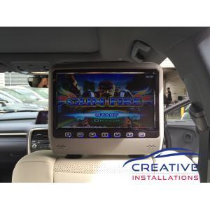 RX 450h Headrest DVD Players