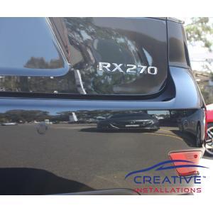 RX 270 Reverse Parking Sensors