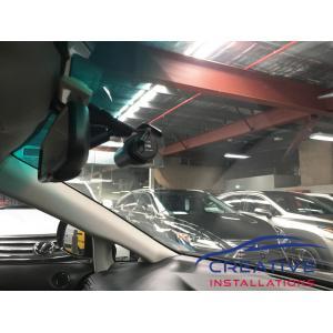 RX350 Dash Cam Installation Sydney