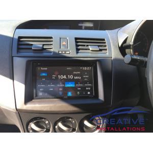 Mazda3 JVC Head Unit