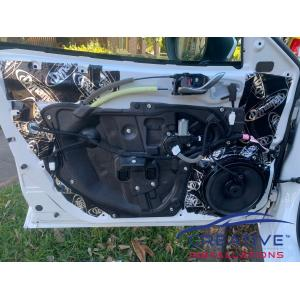 Mazda3 Dynamat Sound Deadening