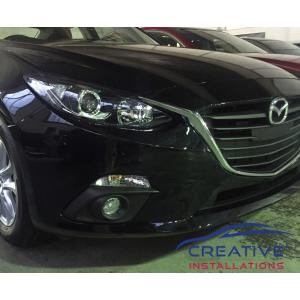 Mazda 3 2016 front parking sensors | Creative Installations