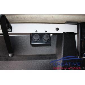 BT50 Tray Power Sockets