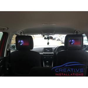 CX-5 Headrest DVD Players