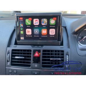 AMG C63 Apple CarPlay Upgrade