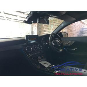 AMG C63S BlackVue DR900S Dash Camera