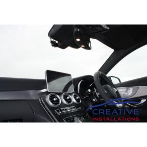 AMG C63 S Coupe Dash Cameras