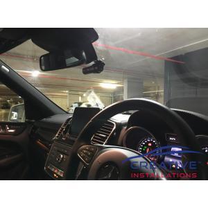 GLE400 BlackVue DR750S-2CH Dash Cameras