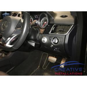 GLE 350d Electric brake controller