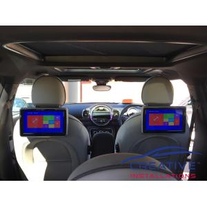 Mini Headrest DVD Players