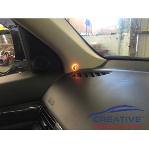 Outlander Blind Spot Sensors